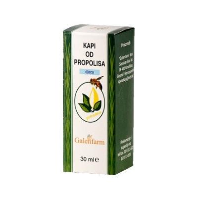 Propolisové kapky pro děti 30 ml Galenfarm
