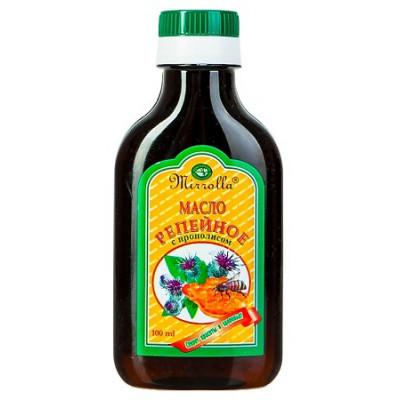 Lopuchový olej na vlasy s propolisem 100 ml Mirolla