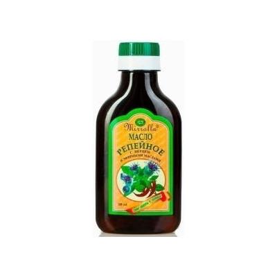 Lopuchový olej na vlasy s pálivými papričkami a...