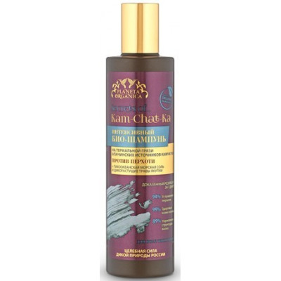 Šampón s termálním bahnem proti lupům 280ml Kam-Chat-Ka...