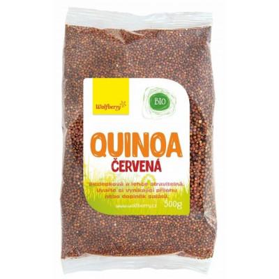 Quinoa červená BIO 500 g Wolfberry