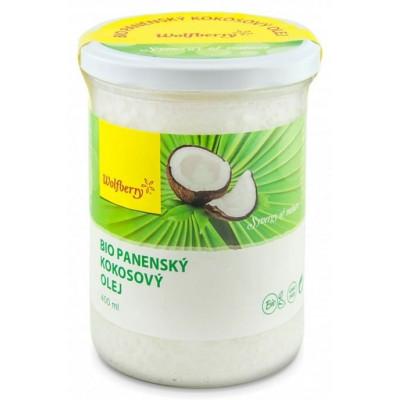 Kokosový panenský olej BIO 400 ml Wolfberry