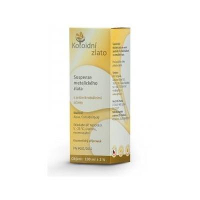 Koloidní zlato 10 ppm - 50 ml