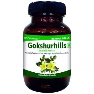 Gokshurhills 60 kapslí Herbal Hills