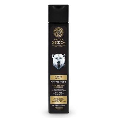 """MEN Super osvěžující sprchový gel """"Bílý medvěd"""" 250 ml..."""