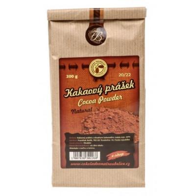 Kakaový prášek 20/22 nepražený - 500 g Čokoládovna...