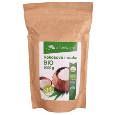 Zdravý den Bio Raw kokosová mouka 1000 g