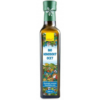 Kokosový ocet 250 ml Wolfberry