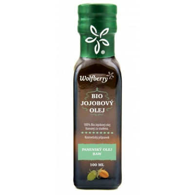 Jojobový kosmetický olej BIO 100 ml Wolfberry