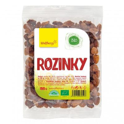 Rozinky BIO 100 g Wolfberry