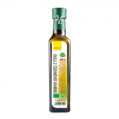 Olej z černého kmínu 250 ml Wolfberry