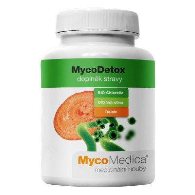 MycoDetox 120 kapslí MycoMedica