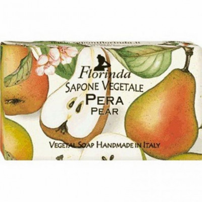 Italské mýdlo Pera -  hruška 100 g Florinda