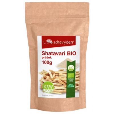 Shatavari BIO prášek 100 g Zdravý den