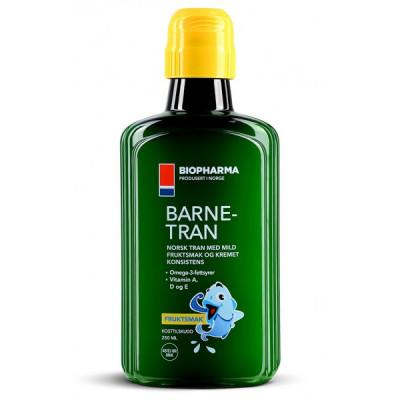 Norský rybí olej 500 ml s citrónovou příchutí Norsk Tran...