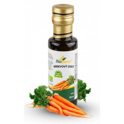 Mrkvový olej BIO - 25% macerát - 100 ml Biopurus