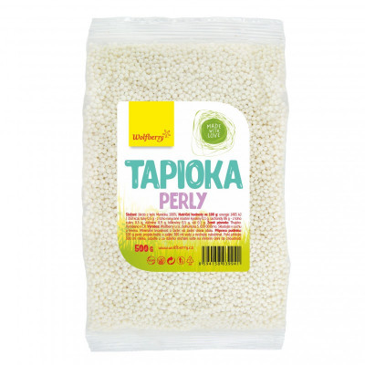 Tapioka perly 500 g Wolfberry