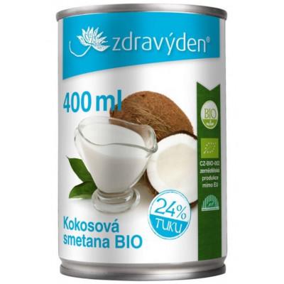 Kokosová smetana BIO 400 ml Zdravý den