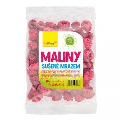 Maliny sušené mrazem 20 g Wolfberry