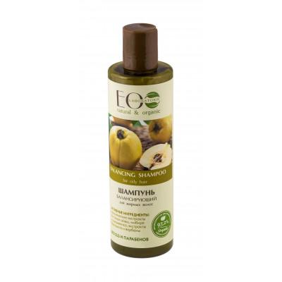 Balanční šampon na mastné vlasy 250 ml EOLab