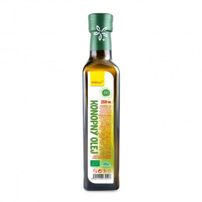 Konopný olej BIO 250 ml Wolfberry