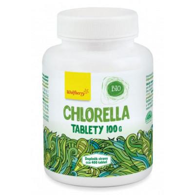 Chlorella BIO 100 g 500 tbl Wolfberry
