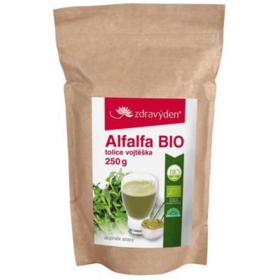Alfalfa - Vojtěška setá BIO - 250 g Zdravý den
