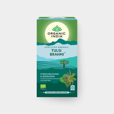 Tulsi Brahmi BIO 25 sáčků Organic India