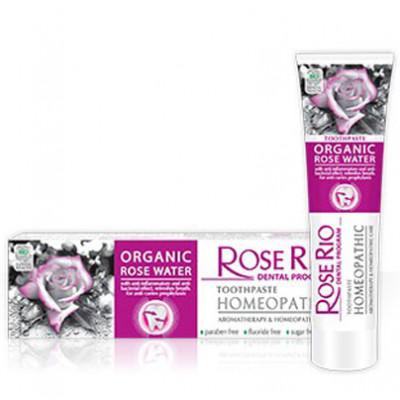 Rose Rio homeopatická zubní pasta aromaterapeutická péče...