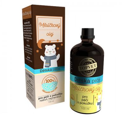 Dětská péče - Měsíčkový olej Topvet