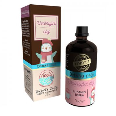 Dětská péče - Uvolňující olej Topvet