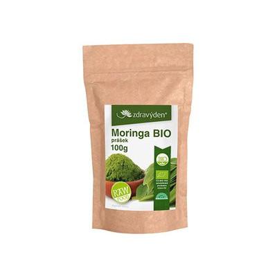 Moringa BIO RAW prášek 100 g Zdravý den