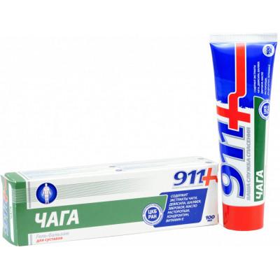 911 Masážní gelový balzám ČAGA na tělo
