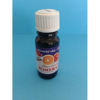 Éterický olej Pomeranč 10 ml.