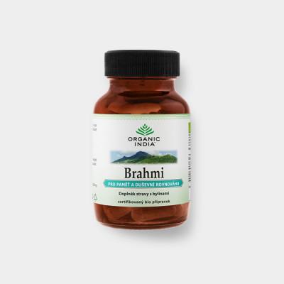 Brahmi - 60 kapslí Organic India