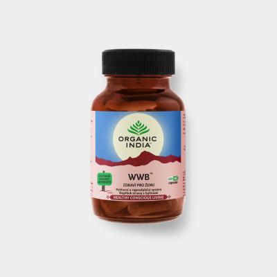 WWB Zdraví pro ženu 60 kapslí ORGANIC INDIA