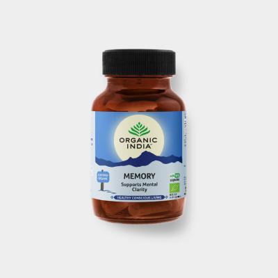 Memory - Bio 60 kapslí Organic India