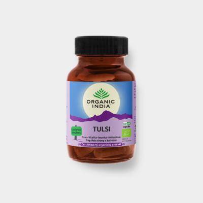 Tulsi Bio 60 kapslí Organic India