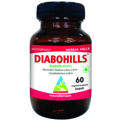 Diabohills 60 kapslí Herbal Hils