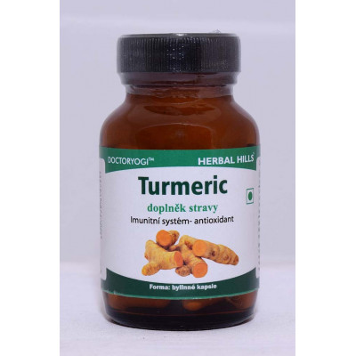 Turmeric 60 kapslí Herbal Hills