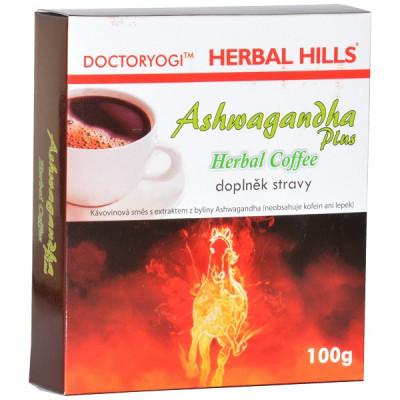 ASHWAGANDHA plus Herbal Coffee 100g Herbal Hills