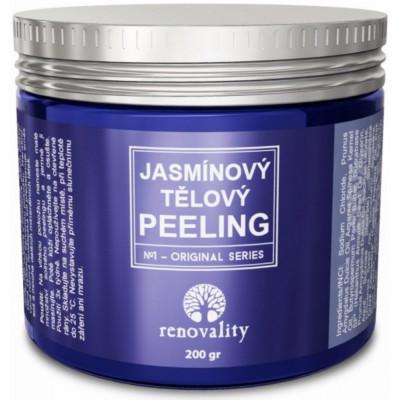 Jasmínový tělový peeling 200 g Renovality