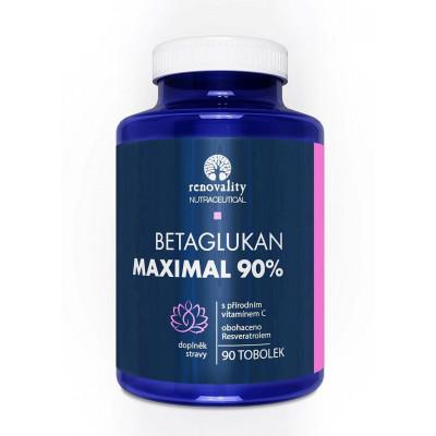 Betaglukan 90% MAXIMAL s Vitamínem C přírodního původu 90...