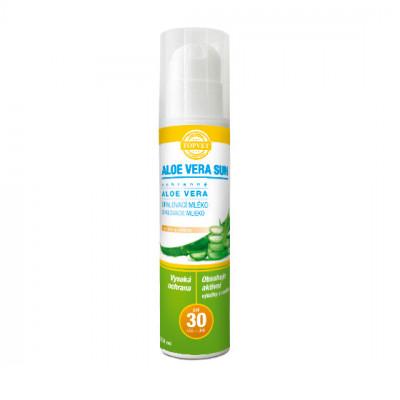 Aloe vera opalovací mléko SPF 30 Topvet