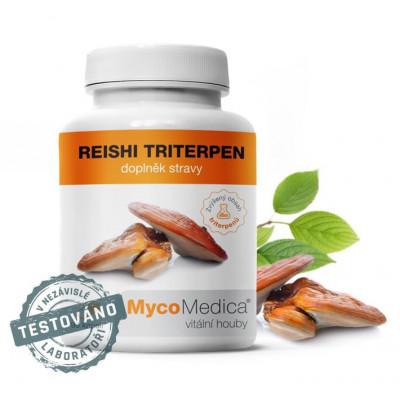 MycoMedica Reishi triterpen ve vysoké koncentraci 90 kapslí