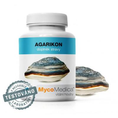 MycoMedica Agarikon v optimálním složení 90 kapslí