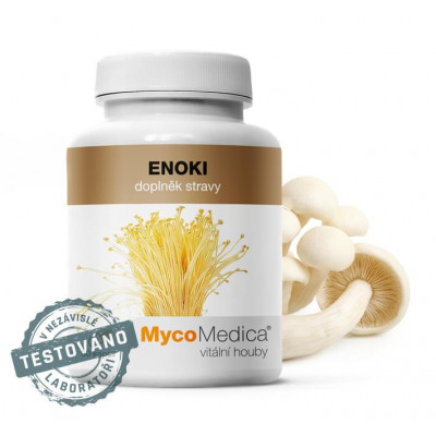 Enoki 90 kapslí MycoMedica