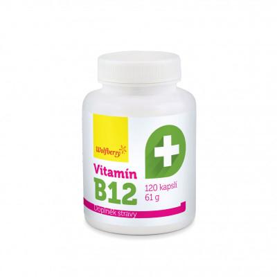 Vitamín B12 61 g/120 kapslí Wolfberry