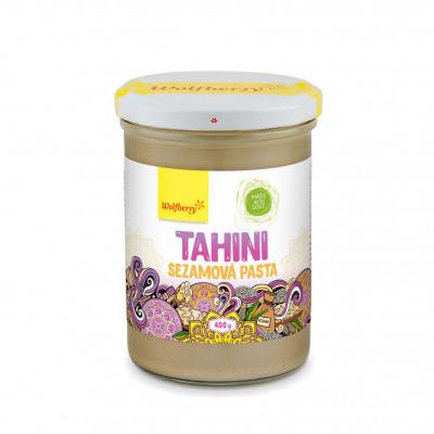 Tahini sezamová pasta 400 g Wolfberry