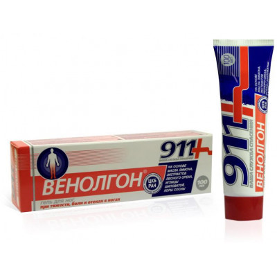 Venolgon - Gel na nohy - Twinstec 911 - 100 ml